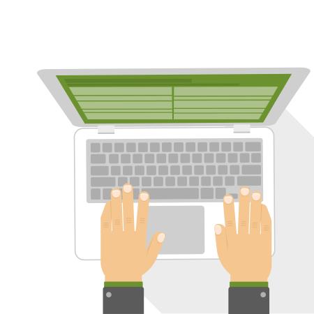 Навык слепой печати на клавиатуре
